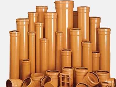 Пластиковые трубы для канализации: серые или рыжие?
